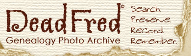 Dead Fred Genealogy Photo Archive